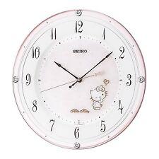 SEIKO CLOCK Wall clock Hello Kitty High line Radio wave Analog CS501P