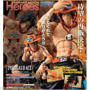 One Piece Variable Action Heroes Action Figure Figura Portgas D.Ace Megahouse
