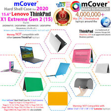 """NEW mCover® Hard Case for 2020 15.6"""" Lenovo ThinkPad X1 Extreme 2nd Gen. Laptop"""
