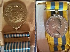More details for british korean war medal's with photo of owner with other personnel in the field