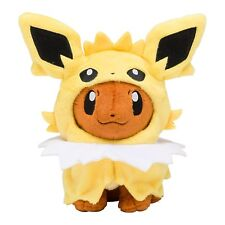 Pokemon Center Original Limited Plush Doll Eevee Poncho Jolteon JAPAN OFFICIAL