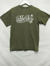 Z7031 Hurley mens brown short sleeve t-shirt w/ Hurley written on front size M.