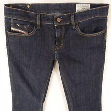 Da Donna Diesel Livy 008WZ Stretch Skinny Blue Jeans W30 L30 UK Taglia 10