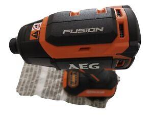 AEG  18V FUSION IMPACT DRIVER, BRAND NEW