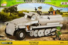 COBI Sd.Kfz. 251/9 Ausf. C Stummel (2472 A) - 460 elem. - WWII German APC