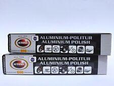 (8,89€/100 ml) 2x 75 ml Autosol® Aluminium Politur Reiniger Alu Polish Cleaner
