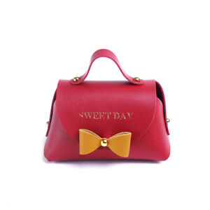 Mini Candy Box Leather Bow Bag For Wedding Baby Shower Favor Packing Gift Bags)
