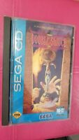 SEGA CD Double Switch Game With Original Box and Instruction Manuel