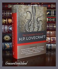 The Complete Fiction of H.P. Lovecraft Chulhu Dunwich New Hardcover Gift Edition