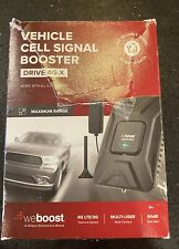 weBoost Drive 4G-X RV OTR Cell Phone Signal Booster ONLY BUSTER,antenna READ!!