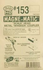 "Kadee #153 All-Metal Whisker Coupler - Short (1/4"") Self Center Shank - NIB"
