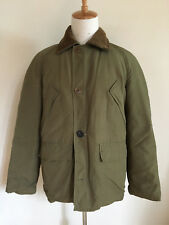 Vintage 1970's Eddie Bauer Down Quilted Jacket Coat Men'S Size Large Worn