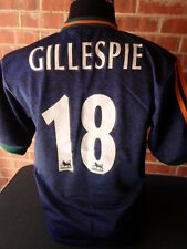 1998-1999 Gillespie Newcastle United Away Football Shirt Small Adults (19943)