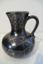 Tolle Keramikvase / Henkelvase mit Silberreduktionsglasur von Dümler & Breiden