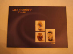 Moorcroft enamels brochure for 1999