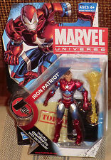 MARVEL UNIVERSE  IRON PATRIOT   NORMAN OSBORN  VARIANT   MOC