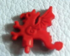 LEGO x47 @@ Minifig, Plume Dragon @@ RED @@ ROUGE