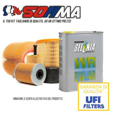 Kit tagliando olio SELENIA WR 5W40 4 LT+4FILTRI SOFIMA LANCIA YPSILON KF0001/so