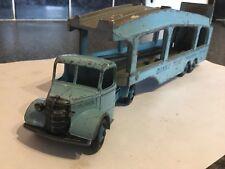 Die-cast dinky Toys car Bedford Pullmore transporter Delivery Service #582