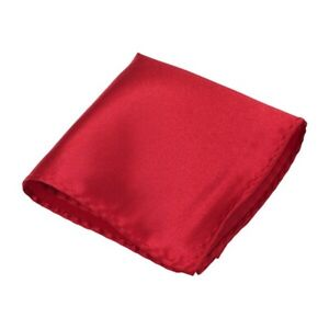 Man's Handkerchiefs Suit Pocket Square Hanky Solid Accessories Wedding Banquet