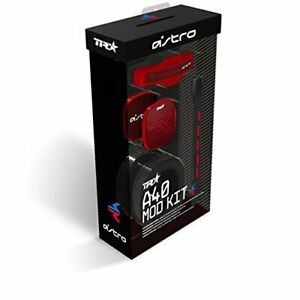 ASTRO Gaming A40 TR Mod Kit Noise Cancelling Conversion Kit - Red