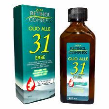 Retinol Complex Olio alle 31 Erbe senza Parabeni Paraffina alcohol 100ml MI-320