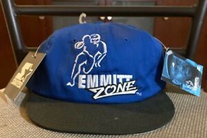 EMMITT SMITH STARTER HAT NWT RARE DALLAS COWBOYS 90s VINTAGE NFL