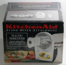 Kitchen Aid Stand Mixer Disc Slicer and Shredder Attachment NEW