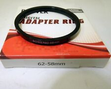 62mm to 55mm Step Down Lens RING Filter ADAPTER  from 62-58mm