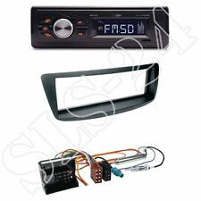 Caliber RMD022 (orange) Radio + Citroen C1-1-DIN Blende schwarz +ISO-Adapter SET