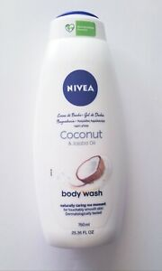 NIVEA Coconut Body Wash Coconut & Jojoba Oil Shower Body Wash 750ml / 25.36fl