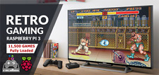32GB Raspberry Pi Micro SD 11500 Games Recalbox Kodi Fully Loaded not Retropie
