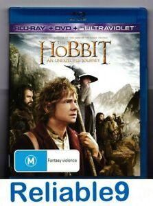 The Hobbit An unexpected jourmey 2Bluray+DVD+Special features - 2013 Warner AUS