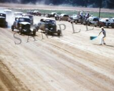"""1950's Dirt Track Stock Car Race Williams Grove, PA 8""""x 10"""" Photo Poster"""