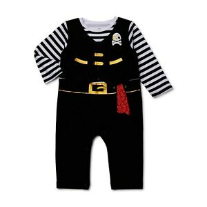 Way to Celebrate Baby Boy Pirate Coveralls