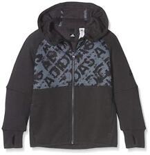 adidas Junior Boys Heathered Lineage Hoody Size 140 AX6437