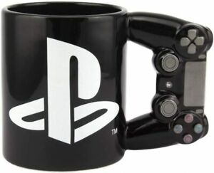 Playstation 4th Gen Controller 11 oz. PS4 Mug Black NEW Official