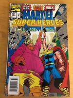 Marvel Comics Super Heroes # 15 Fall 1993 Special 80 Pages (Iron Man-Thor-Hulk)