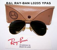 Vintage Bausch & Lomb Ray-Ban Aviator 80'era L0205 YPAS, 58 [ ] 14,not perfect