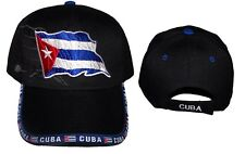 Cuba Country  Baseball Caps Hats Embroidered  (75050CU   ^*)