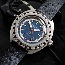 Favre Leuba Deep Blue Roulette Bakelite Bezel Ref. 59863 1159 21 Jewel TROPIC
