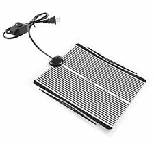 Reptile Heating Pad with Temperature Control, 110V 15W Reptile Pet Under Tank