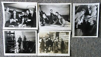 THE LONG VOYAGE HOME B/W movie photos ~ LOT of 5 ~ JOHN WAYNE