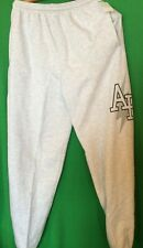 NWT NCAA CHAMPION AIR FORCE FALCONS CLASSIC FIT SWEAT PANTS - LIGHT GRAY - LARGE