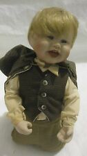 Limited Edition Little Sherlock Porcelain Doll Born To Be Famous Edwin M.Knowles