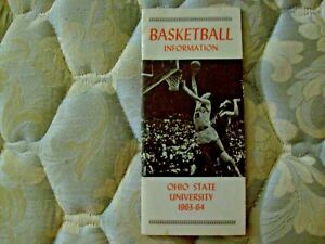 1963-64 OHIO STATE BUCKEYES BASKETBALL MEDIA GUIDE Yearbook GARY BRADDS 1964 AD