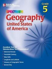 Spectrum Geography, Grade 5: United States of America McGraw-Hill Learning Mate