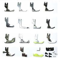 Set of 18 Industrial Sewing Machine Feet Zipper Gathering Shirring Hemming Hot