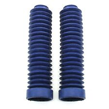 1983-1986 fits Honda ATC 250R 350X Front Fork Shock Boots Blue New Set of 2