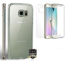 Fit Galaxy S6 EDGE PLUS Max Clear Slim 360 Full Body Protector Transparent Case